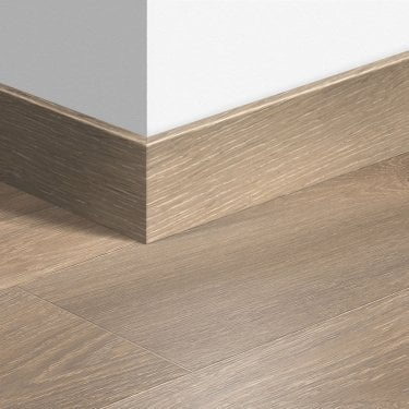 01661 Colour Match 2.4m Largo Parquet Skirting Board for Laminate Flooring (QSLPSKR)