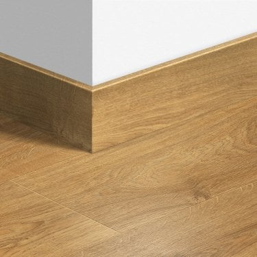 01662 Colour Match 2.4m Largo Parquet Skirting Board for Laminate Flooring (QSLPSKR)