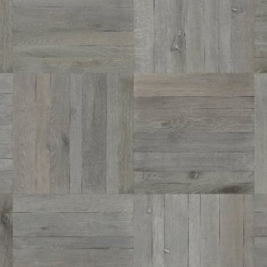 13.5mm x 485mm Siilvergrey Country Oak Brushed & Oiled Tile Engineered Real Wood Flooring (8273)