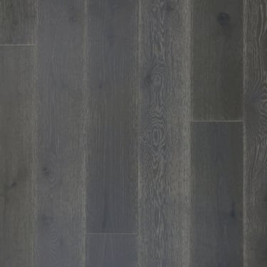 14mm x 189mm Dark White Washed Oak Brushed & Oiled Engineered Real Wood Flooring (2957)