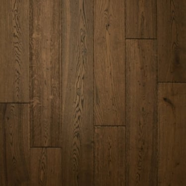 18mm x 150mm Antique Oak Brushed & Oiled Engineered Real Wood Flooring (2625)