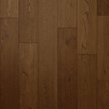 18mm x 150mm Cocoa Oak Brushed & Oiled Engineered Real Wood Flooring (2623)
