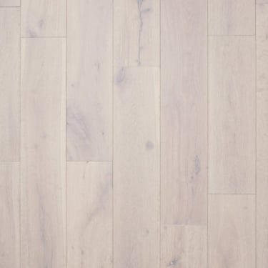 18mm x 150mm Pure White Oak Brushed & Matt Lacquered Engineered Real Wood Flooring (2427)