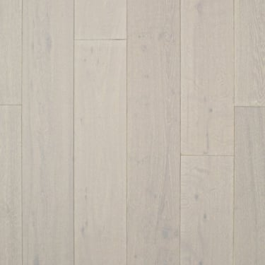 18mm x 189mm Pure White Oak Brushed & Matt Lacquered Engineered Real Wood Flooring (2549)