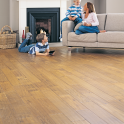 Elka Flooring 18x130mm Rustic Lacquered Golden Oak Solid Wood Flooring