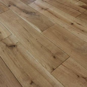 Wood Plus 18x150mm WOCA Natural Oiled Solid Oak Flooring