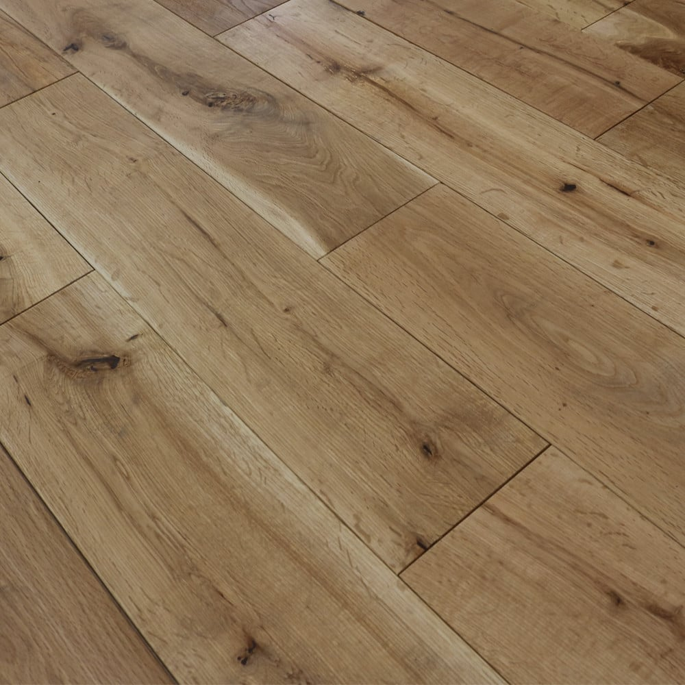 Wood flooring woca oak 18x150mm oiled abcd grade solid for Solid oak wood flooring