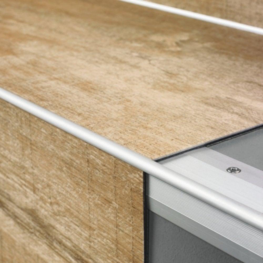 2m Glue Stair Profile For Vinyl Flooring Qsvstpglue Flooring