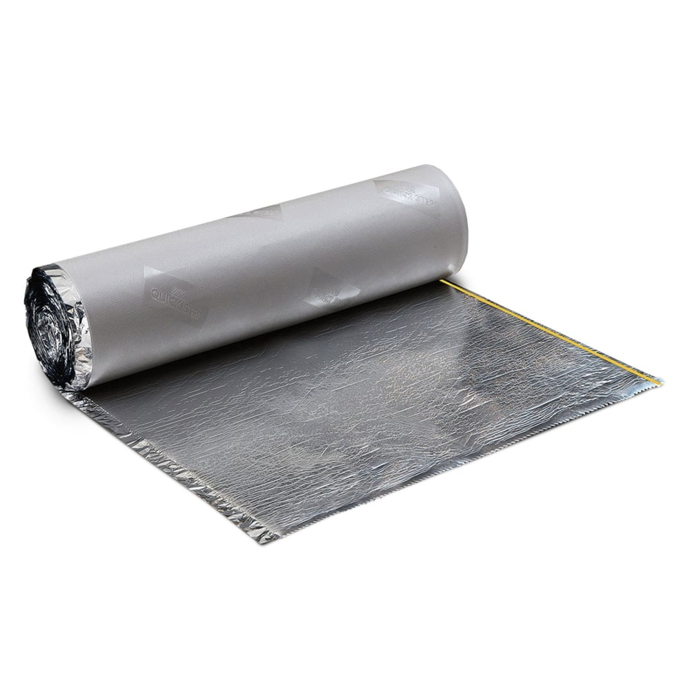 Quickstep basic plus 2mm flooring underlay leader floors for Laminate flooring underlay
