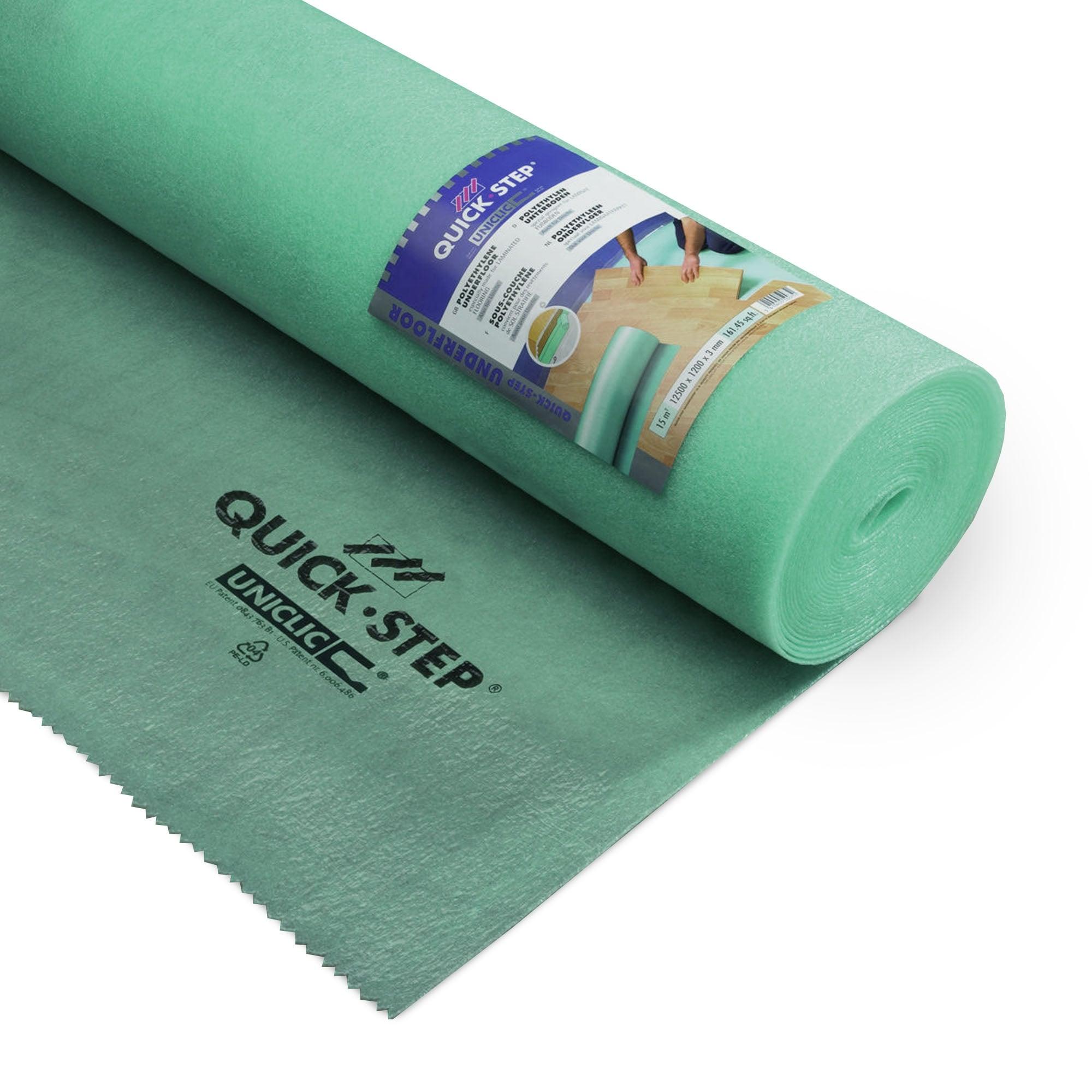 Quickstep uniclic basic 3mm foam flooring underlay for Uniclic laminate flooring