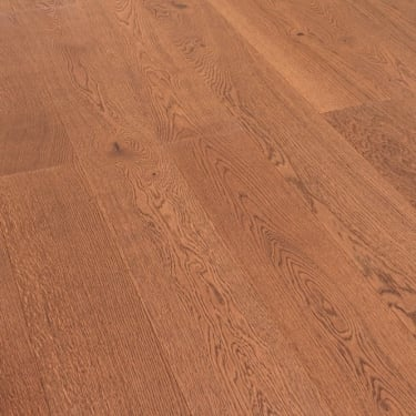 5G Click 13.5mm x 160mm Brandy Oak Matt Lacquered Engineered Real Wood Flooring (SKU-157761)