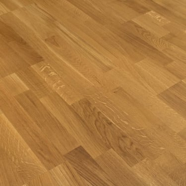 5G Click 3 Strip 13.5mm x 190mm Natural Oak Matt Lacquered Engineered Real Wood Flooring (SKU-157763)