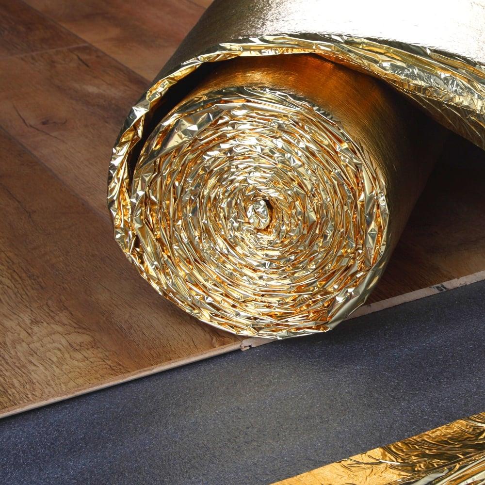5mm Supergold Wood Flooring Underlay, 5mm Underlay For Laminate Flooring