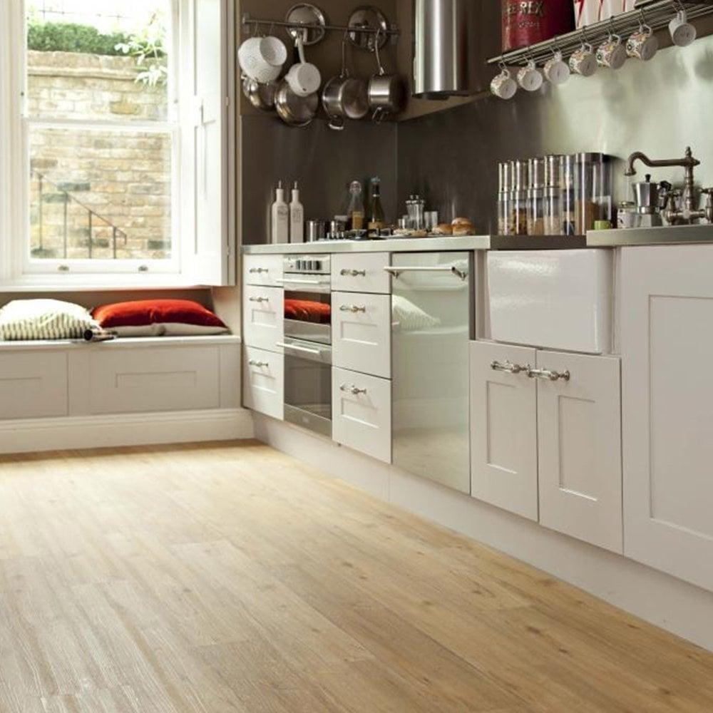 Vinyl Floor Covering Kitchen