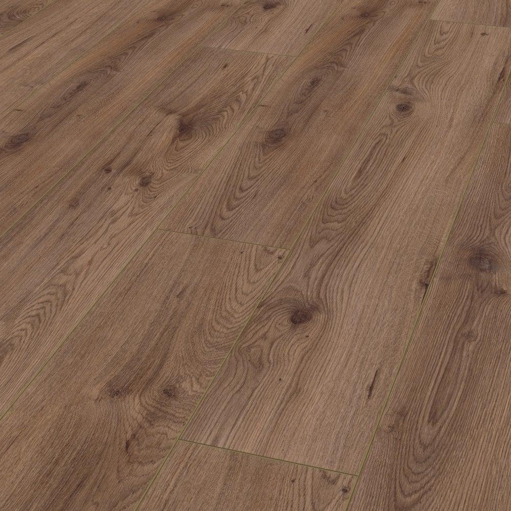 Kronotex Advanced 8mm Millenium Brown, Millennium Laminate Flooring