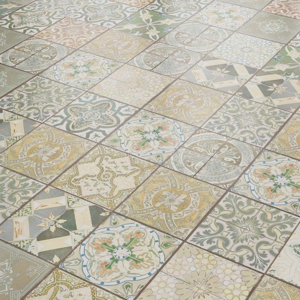 Liberty Floors Aurora 8mm Ornate, Laminate Flooring To Tile