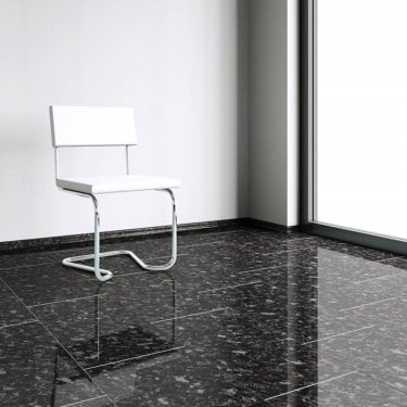 Brilliant Life 8mm Black Pearl Tile High Gloss Laminate Flooring (775506)