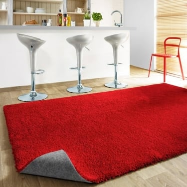 Forever Rugs Burst 71151-010 Red Rug