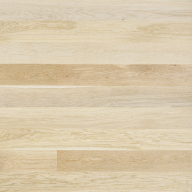 Classic 12.5mm x 145mm Double White Oak Brushed Matt Lacquer 3 Strip Engineered Real Wood Flooring (ELKABMLDWOAK)