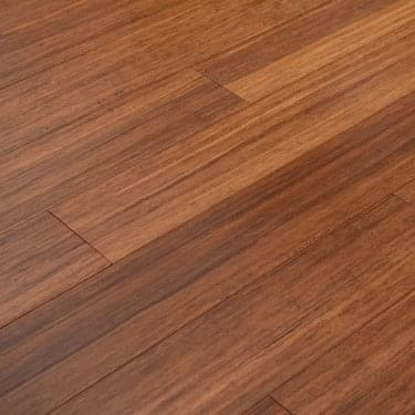 Classic 12mm x 125mm Carbonised Strand Woven Bamboo Lightly Brushed Satin UV Lacquered Solid Wood Flooring (SKU-171699)