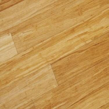 Classic 14mm x 125mm Natural Strand Woven Bamboo Satin UV Lacquered Solid Wood Flooring (SKU-29467)