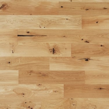 Classic 14mm x 190mm Rustic Oak UV Oiled 3 Strip Engineered Real Wood Flooring (ELKA14SROAK)