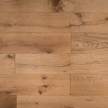 Classic 18mm x 150mm Enhanced Oak Brushed Matt Lacquered Engineered Real Wood Flooring (ELKA18ENHANCEDOAK)
