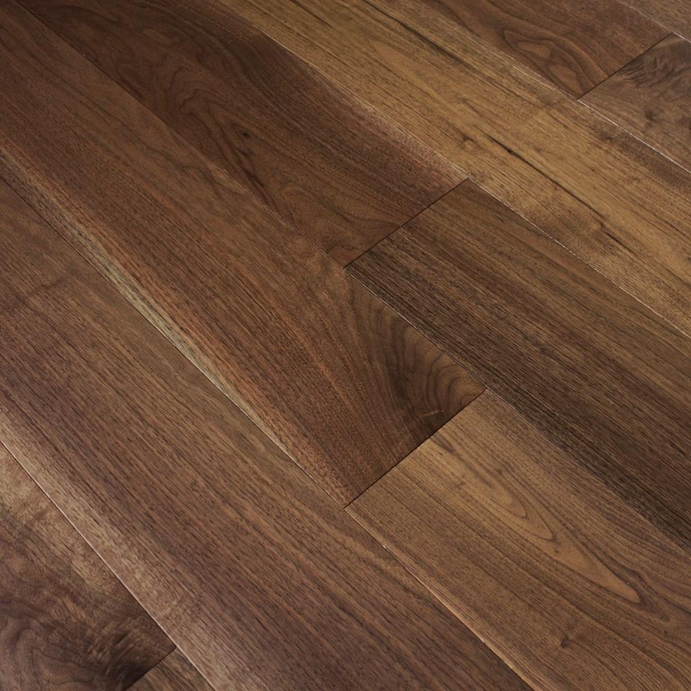 Wood flooring classic american black walnut 18x125mm for Unfinished walnut flooring
