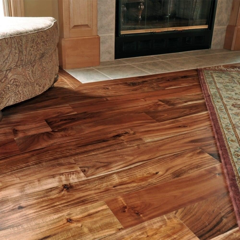 Wood flooring classic acacia asian walnut 18x93mm for Walnut flooring