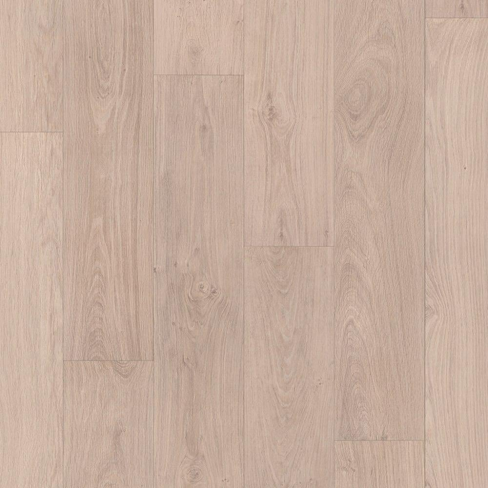 Quickstep Classic 8mm Bleached White Oak Laminate Flooring
