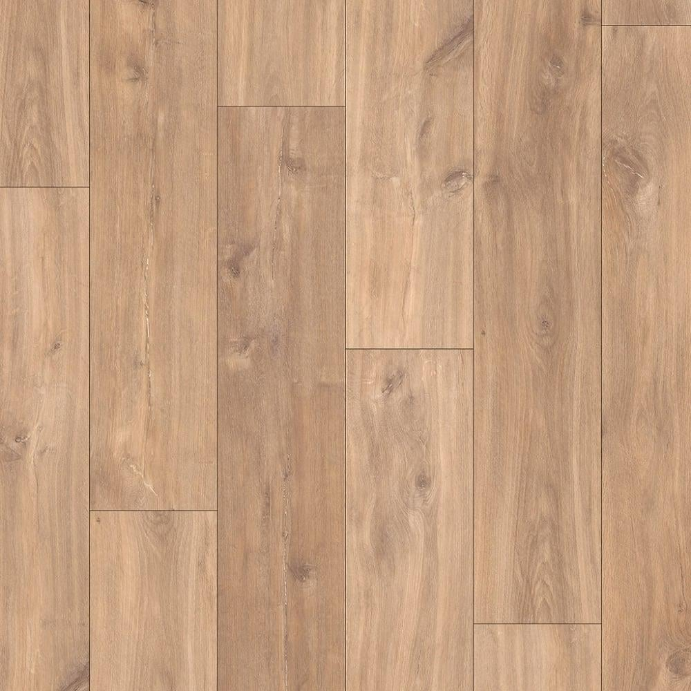 Quickstep classic 8mm midnight oak natural laminate for Laminate flooring company