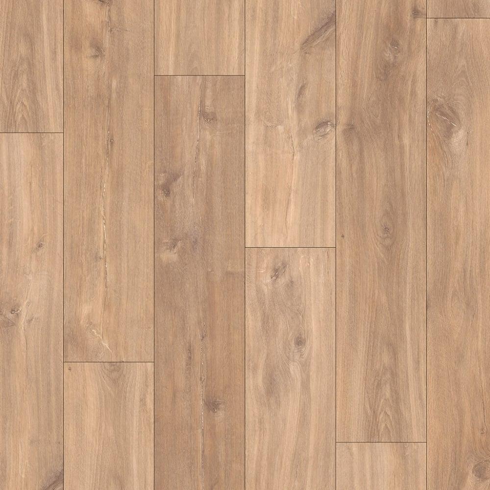 Quickstep classic 8mm midnight oak natural laminate for Laminate wood flooring company