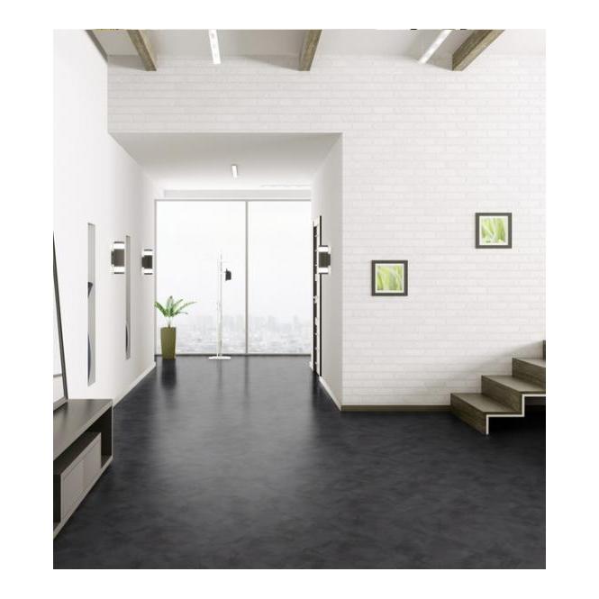 Luvanto Click Black Slate Luxury Vinyl Tile Flooring Leader Floors