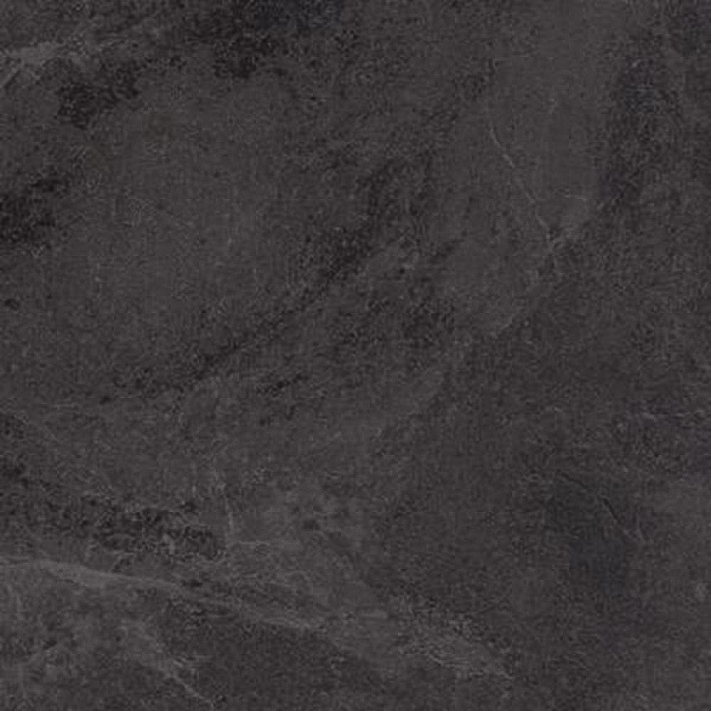 Black Vinyl Kitchen Flooring: Luvanto Click 4mm Black Slate Tile Vinyl Flooring