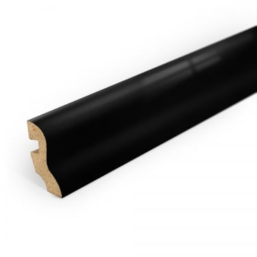 Black High Gloss Profiled Skirting Board
