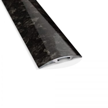 Black Pearl High Gloss Stepped Cover Door Bar