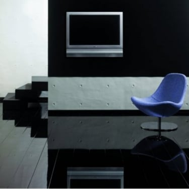 Elesgo Supergloss Extra Sensitive Black Laminate Flooring