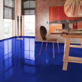 Elesgo Supergloss Extra Sensitive Blue Night Laminate Flooring
