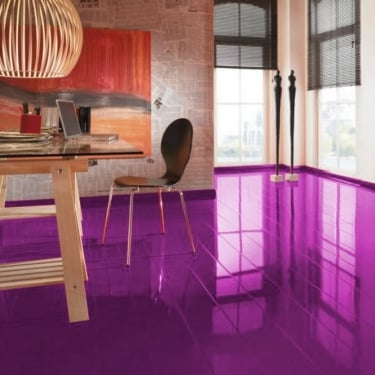 Elesgo Supergloss Extra Sensitive Violet Laminate Flooring