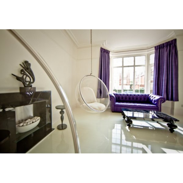 White Gloss Kitchen Flooring: Elesgo Supergloss Extra Sensitive 8.7mm White High Gloss
