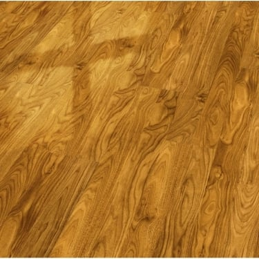Elesgo Supergloss Walnut Flat Edge Laminate Flooring