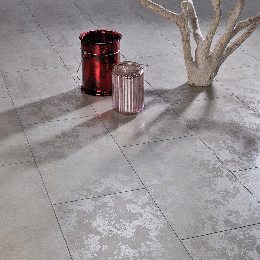 Elesgo Wellness Concrete Maxi V5 Groove Laminate Flooring