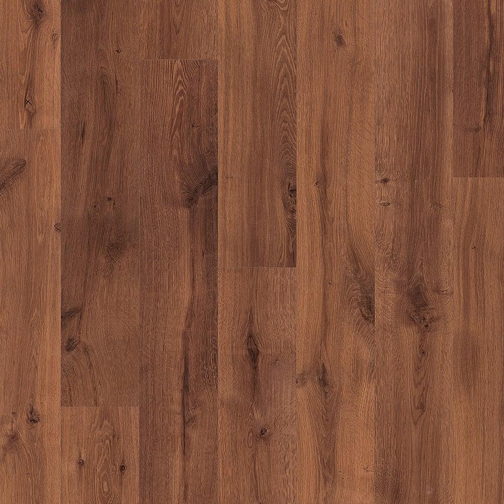 Quickstep eligna 8mm vintage oak dark varnished laminate for Dark laminate flooring