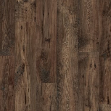 Eligna Wide 8mm Reclaimed Brown Chestnut Waterproof Laminate Flooring (UW1544)
