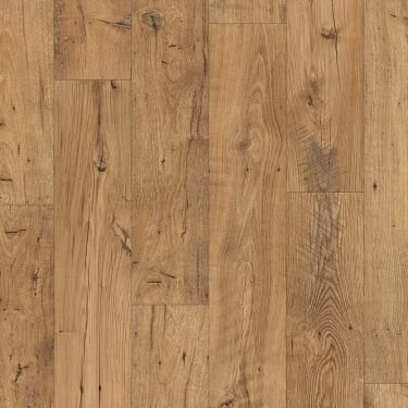 Eligna Wide 8mm Reclaimed Natural Chestnut Waterproof Laminate Flooring (UW1541)
