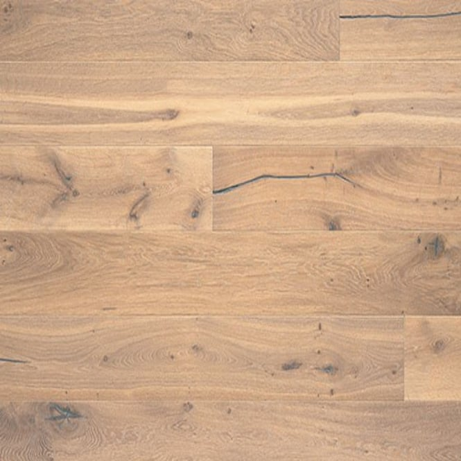 Classic 14/3x190mm Brushed & UV Oiled Truffle Oak Engineered Real Wood Flooring (ELKA14TRUFFLEOAK)