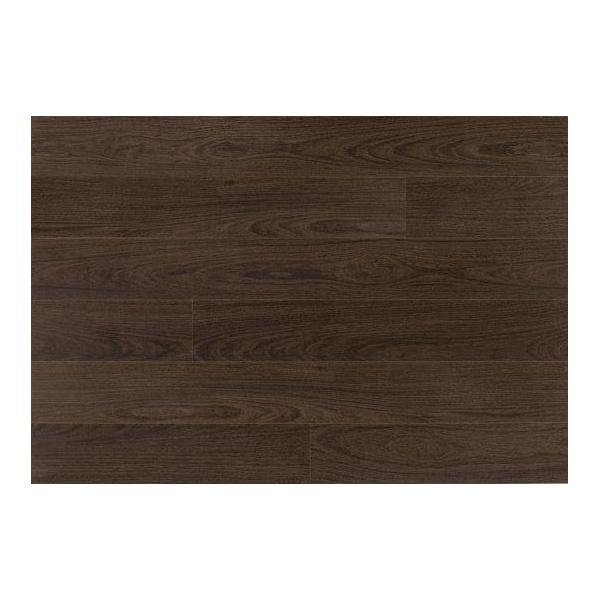 Elka v groove dark walnut 8mm ac3 laminate flooring for Walnut laminate flooring