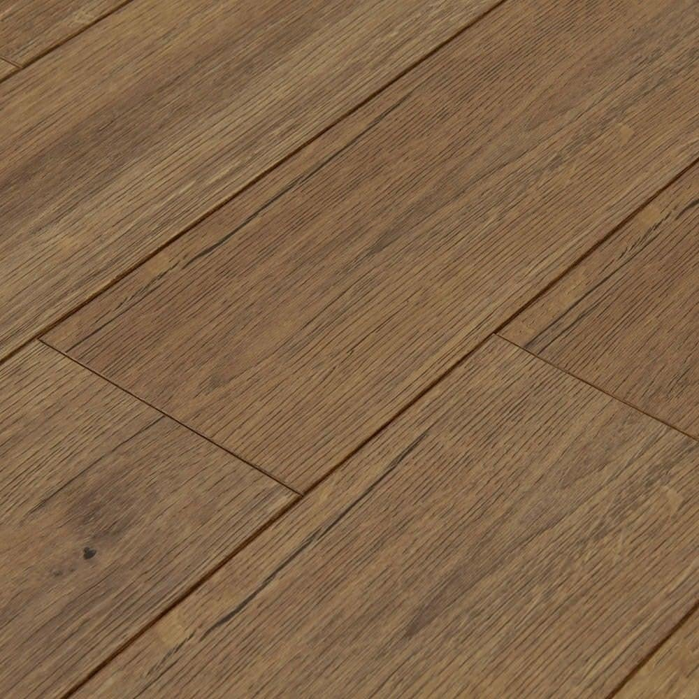 Balterio estrada sepia oak 8mm ac4 laminate flooring for Laminate flooring company