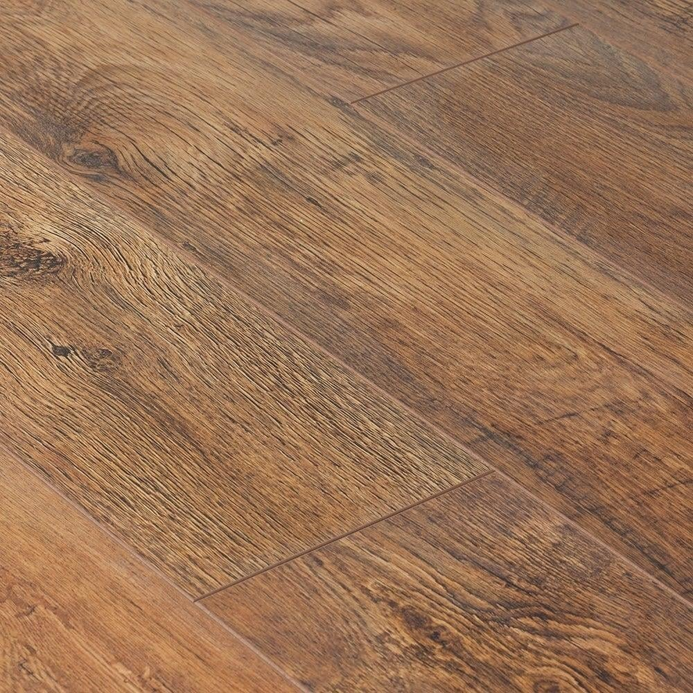 Krono original cottage twin clic 7mm antique oak laminate for Clic laminate flooring