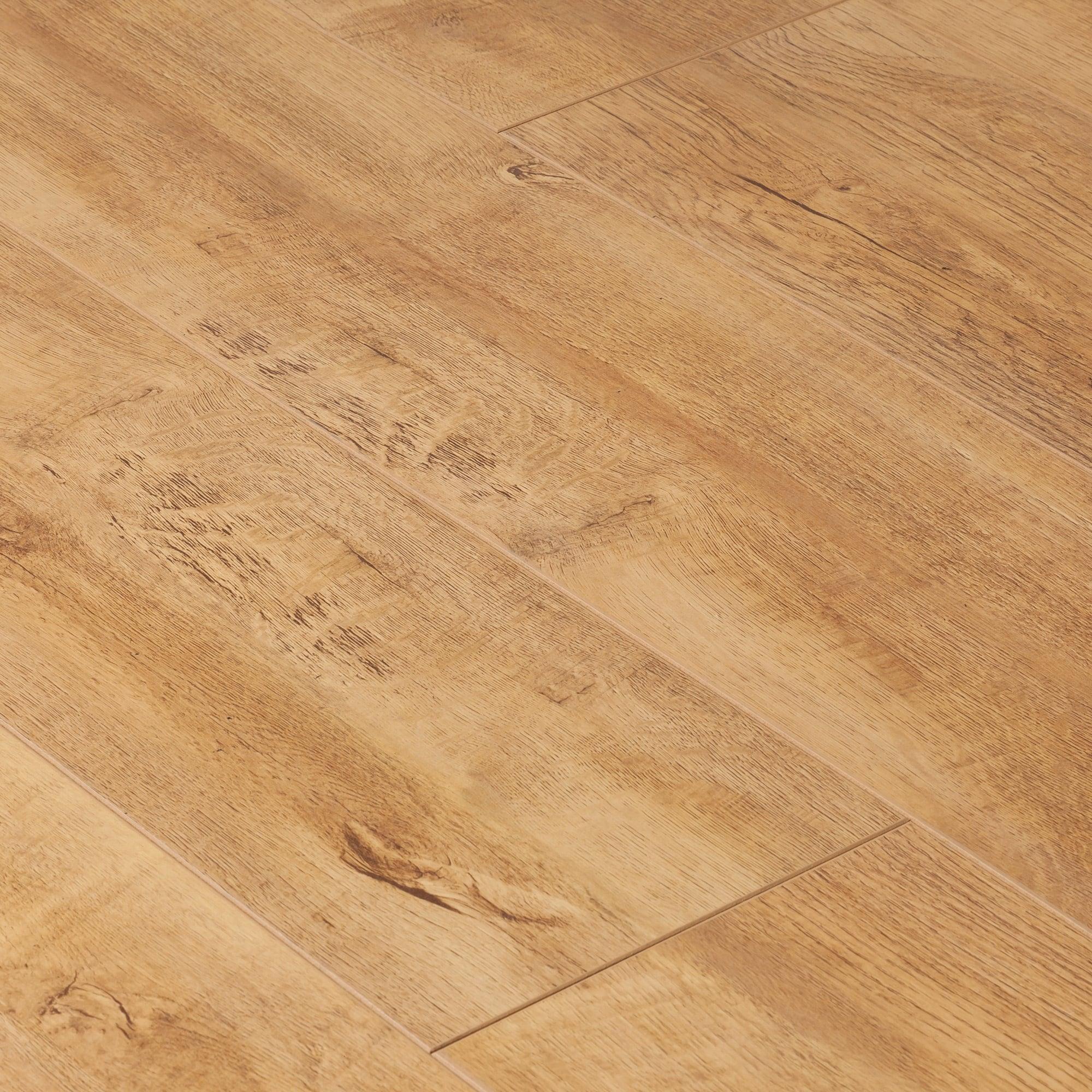 Krono original cottage twin clic 7mm harvester oak for Clic laminate flooring